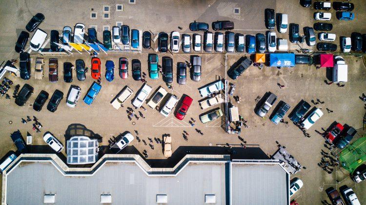 Autohaus Ansicht von oben