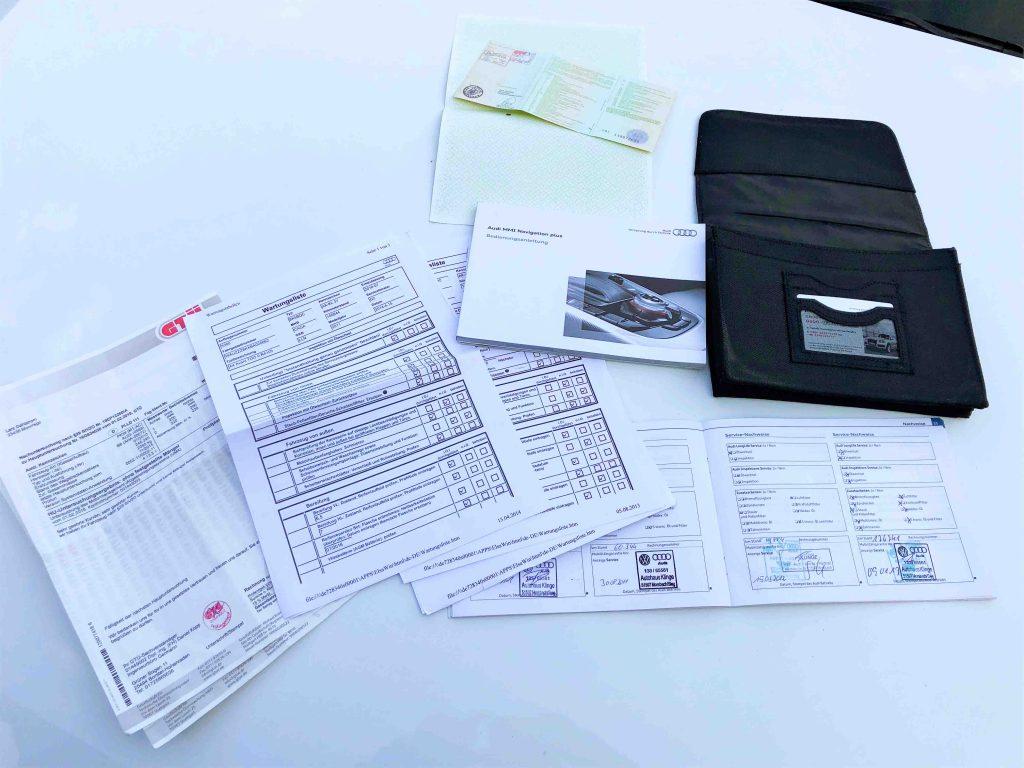 autoverkauf welche Unterlagen