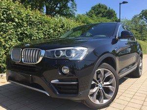 Fahrzeugbilder zum Gebrauchtwagenverkauf BMW X4 vorne schräg links
