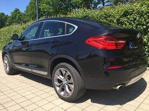 Fahrzeugbilder zum Gebrauchtwagenverkauf BMW X4 hinten links