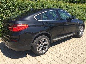 Fahrzeugbilder zum Gebrauchtwagenverkauf BMW X4 hinten rechts