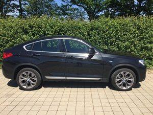 Fahrzeugbilder zum Gebrauchtwagenverkauf BMW X4 seite rechts