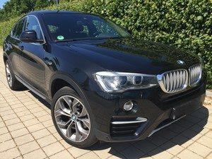 Fahrzeugbilder zum Gebrauchtwagenverkauf BMW X4 vorne links
