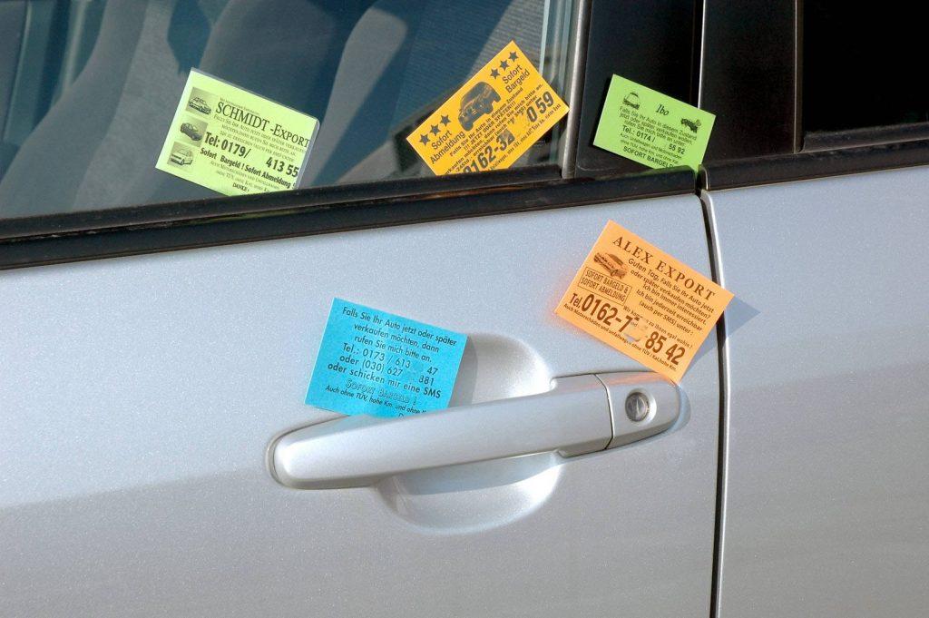 auto verkaufen NÜRNBERG kärtchenhändler