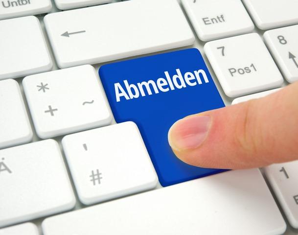 Auto-online-abmelden